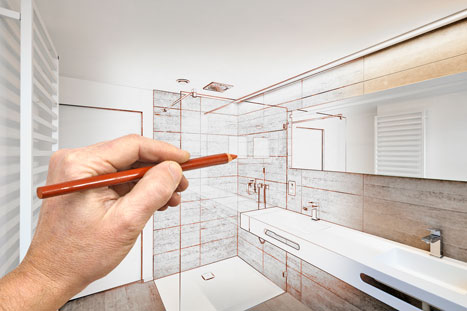 Bathroom Remodel Hanson's Plumbing & Heating